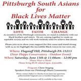 Pittsburgh South Asians for Black Lives Matter.