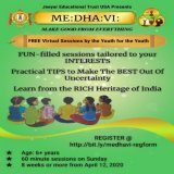 FREE Virtual Sessions by the Youth for the Youth